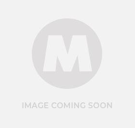 Munsen Pipe Clip Backplate Female Brass 10mm  - MRBP